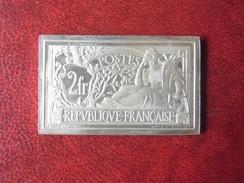 Timbre De France - 2 Francs Type MERSON De 1900 - 1982 (15 Grammes En Argent 925/1000 ) Poinçon Crabe - 1900-27 Merson