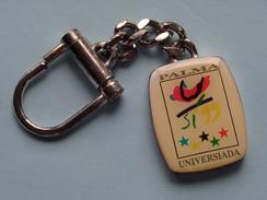 PALMA UNIVERSIADA ( Key Chain - Porte Clé / Sleutelhanger / Zie Foto ) ! - Olympische Spelen