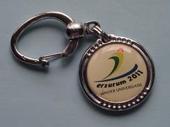WINTER UNIVERSIADE 2011 ERZURUM ( Key Chain - Porte Clé / Sleutelhanger / Zie Foto ) ! - Jeux Olympiques