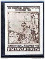 HUNGARY 1969 Art History Congress Imperforate  MNH / **.  Michel 2536B - Hungary