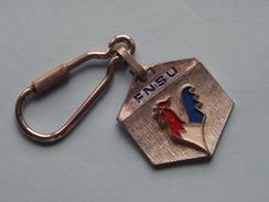 FNSU ( France ) ( Key Chain - Porte Clé / Sleutelhanger / Zie Foto ) ! - Jeux Olympiques