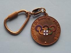 Comité Olimpico PORTUGUES ( Key Chain - Porte Clé / Sleutelhanger / Zie Foto ) ! - Jeux Olympiques
