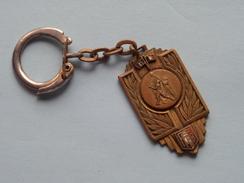 FRANCE - BELGIQUE ESPOIRS 15-4-61 ( FFBB ) ( Key Chain - Porte Clé / Sleutelhanger / Zie Foto ) ! - Unclassified