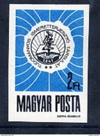 HUNGARY 1968 Scientific Knowledge Imperforate  MNH / **.  Michel 2451B - Hungary