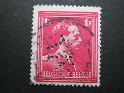 Perfore ,FIRMENLOCHUNG     ,  Perfin ,   2 Scans - 1934-51