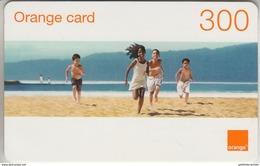 DOMINICAINE - TÉLÉCARTE - GSM & RECHARGE ***  ORANGE - 300 ***