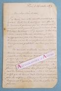 Lot De 2 L.A.S Stephen De La Madelaine (Madeleine) Professeur De Chant Littérateur GiLBERT Musique Lettres Autographe - Autographes