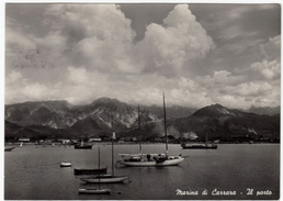 MARINA DI CARRARA - IL PORTO - 1958 - Carrara