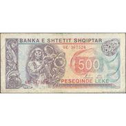 TWN - ALBANIA 48b - 500 Leke 1996 GE 367526 G/VG - Albania