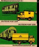Sonder - Markenheftchen DDR 09 Cb Postfrisch  MNH ** - Blocchi