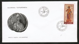 GREECE  Scott # 720 ON FIRST DAY COVER  (Liberation Of Crete) (22/9/61) - FDC