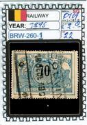 BELGIUM:RAILWAY PARCELS SERIE(S) (BRW- 260-1 (22) - Railway