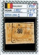 BELGIUM:RAILWAY PARCELS SERIE(S) (BRW- 260-1 (24) - Railway
