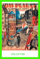 """AFFICHES - MAQUETTE POUR LA COUVERTURE DE LA REVUE """" DAS PLAKAT """" - 1921, MUSÉE DES BEAUX-ARTS DE MONTRÉAL - - Affiches Sur Carte"""