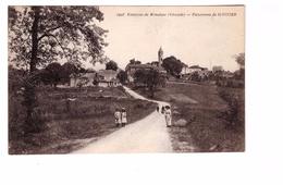 33 St Saint Vivien Panorama Cpa Animée Carte Non Voyagée Environs De Monsegur - France