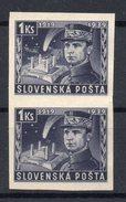 SLOVAKIA  1939, NO GUM , RRR - Unused Stamps