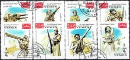 YEMEN#  FROM 1967  STAMPWORLD 301-08 - Yemen
