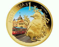 AUSTRALIA 2009 - 1 Dollar - Thème Manchot Pingouin Penguin Pinguin ... - Colecciones