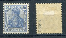 Deutsches Reich Michel-Nr. 87Ib Ungebraucht - Geprüft - Deutschland