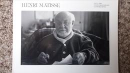 CPM HENRI MATISSE PHOTO BY SANFORD ROTH NICE 1952  ED 1979 ? - Altre Celebrità