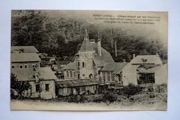 02 -SANCY-LES -CHEMINOTS  - Village Adopté Par Les Cheminots - La Nouvelle Mairie-école Inaugurée Le 3 Septembre 1922 - Other Municipalities