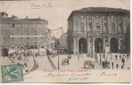 PARMA  MUNICIPIO PIAZZA VITTORIO EMANUELE - Parma
