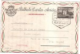 BILHETE CARTA -AVIÃO      .-AEROGRAME-- - Mozambique