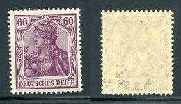 Deutsches Reich Michel-Nr. 92IIb Postfrisch - Geprüft - Deutschland