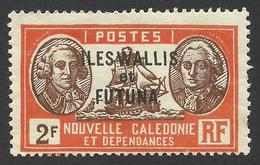Wallis And Futuna, 2 F. 1930, Sc # 78, MH - Unused Stamps