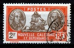 New Caledonia, 2f., Bougainville And La Pérouse, French Explorers, 1928, VFU - New Caledonia