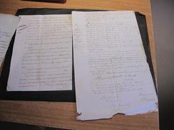 FIZE LE MARSAL-1810/1862- 4 DOCUMENTS DE RENTE DE 327 L.d'epautre Pour Les Pauvres.- Notaire Jacquemotte Fam.Renwart - Documents Historiques