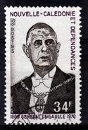 New Caledonia, 34f., Général De Gaulle, 1971, VFU - New Caledonia