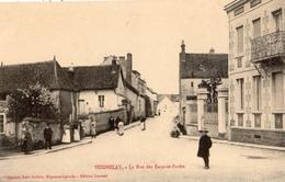 SEIGNELAY LA RUE DES EAUX-ET-FORETS - Seignelay