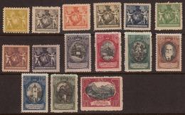 Liechtenstein 1921 Mint Mounted/mint No Hinge, Sc# 54-67,69 (need 68) - Unused Stamps