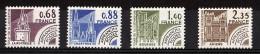 1979 - Préoblitérés N° 162 à 165 - Neufs ** - Monuments Historiques - 1964-1988