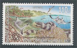 New Caledonia, Lagoons, Fish, Snake And Bird, 2014, MNH VF - New Caledonia