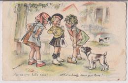ILLUSTRATEUR GERMAINE BOURET : T'EN AS UNE BELLE ROBE - 2 SCANS - - Bouret, Germaine