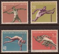 Liechtenstein 1956, Mint No Hinge, Sc# 297-300 - Liechtenstein