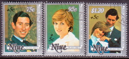 NIUE 1981 SG 444-46 Compl.set Used Int. Year For Disabled Persons - Niue