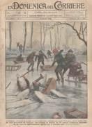 Domenica Corriere N.1 Del 1926 -Campotto (Ferrara) Ghiaccio Si Rompe -Tokio,Scrittori Vendono Direttamente Loro Volumi - Altri
