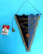 US SANGIORGESE PORTO SAN GIORGIO Marche - Italy Basketball Vintage Pennant Fanion Flag Bandierina Pallacanestro Italia - Apparel, Souvenirs & Other