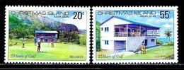 """Christmas Islands     """"Golf""""     Set    SC# 93-94   MNH - Christmas Island"""