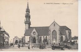 29 - CARANTEC - L' Eglise Et La Place - Carantec