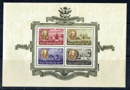 1947  Roosevelt Poste Aérienne  **  MNH - Blocks & Sheetlets