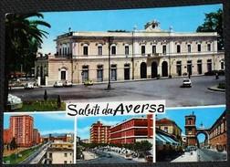 CASERTA - Saluti Da Aversa - Quattro Vedute - Aversa