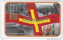GUERNSEY ISL. - Anniversary Of Liberation 50 Years 1945-1995(with Folder), Tirage 15000, Mint - United Kingdom