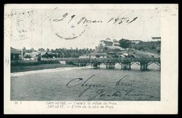 CABO VERDE -SANTIAGO -  PRAIA - Entrada Da Cidade Da Praia. ( Nº 1)  Carte Postale - Cap Vert