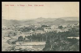 CABO VERDE - SANTIAGO - PRAIA -  . Vista Parcial.   Carte Postale - Cap Vert