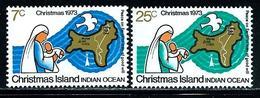 """Christmas Islands      """"Christmas 1973""""   Set   SC# 59-60   MNH - Christmas Island"""