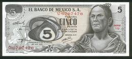 Mexiko - Mexico 1971, 5 Pesos - Erhaltung I - Serie 1U - U6787478 - Mexiko